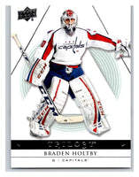 2013-14 Upper Deck Trilogy #97 Braden Holtby Capitals NHL UD Mint