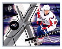 (HCW) 2008-09 SP SPx #1 Nicklas Backstrom Capitals Upper Deck NHL Mint