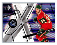 (HCW) 2008-09 SP SPx #3 Pavol Demitra Canucks Upper Deck NHL Mint