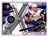 (HCW) 2008-09 SP SPx #5 Steve Bernier Canucks Upper Deck NHL Mint