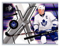 (HCW) 2008-09 SP SPx #6 Mats Sundin Maple Leafs Upper Deck NHL Mint