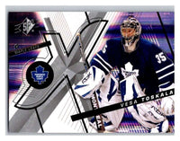 (HCW) 2008-09 SP SPx #7 Vesa Toskala Maple Leafs Upper Deck NHL Mint