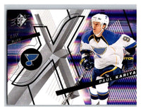 (HCW) 2008-09 SP SPx #12 Paul Kariya Blues Upper Deck NHL Mint