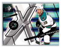 (HCW) 2008-09 SP SPx #13 Joe Thornton Sharks Upper Deck NHL Mint