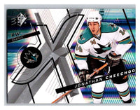 (HCW) 2008-09 SP SPx #14 Jonathan Cheechoo Sharks Upper Deck NHL Mint