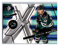 (HCW) 2008-09 SP SPx #15 Patrick Marleau Sharks Upper Deck NHL Mint