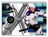 (HCW) 2008-09 SP SPx #16 Rob Blake Sharks Upper Deck NHL Mint