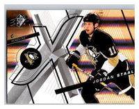(HCW) 2008-09 SP SPx #17 Jordan Staal Penguins Upper Deck NHL Mint