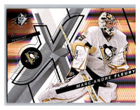 (HCW) 2008-09 SP SPx #19 Marc-Andre Fleury Penguins Upper Deck NHL Mint