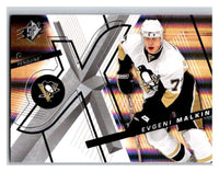 (HCW) 2008-09 SP SPx #20 Evgeni Malkin Penguins Upper Deck NHL Mint