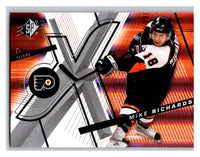 (HCW) 2008-09 SP SPx #25 Mike Richards Flyers Upper Deck NHL Mint
