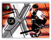 (HCW) 2008-09 SP SPx #27 Simon Gagne Flyers Upper Deck NHL Mint