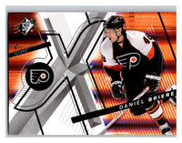 (HCW) 2008-09 SP SPx #28 Daniel Briere Flyers Upper Deck NHL Mint