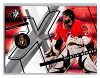 (HCW) 2008-09 SP SPx #30 Martin Gerber Senators Upper Deck NHL Mint