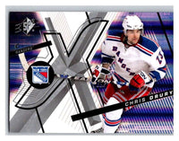 (HCW) 2008-09 SP SPx #36 Chris Drury NY Rangers Upper Deck NHL Mint