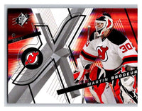 (HCW) 2008-09 SP SPx #40 Martin Brodeur NJ Devils Upper Deck NHL Mint