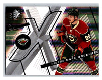 (HCW) 2008-09 SP SPx #51 Pierre-Marc Bouchard Wild Upper Deck NHL Mint
