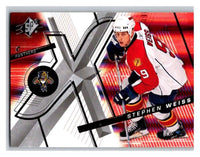 (HCW) 2008-09 SP SPx #54 Stephen Weiss Panthers Upper Deck NHL Mint