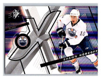 (HCW) 2008-09 SP SPx #55 Shawn Horcoff Oilers Upper Deck NHL Mint