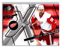 (HCW) 2008-09 SP SPx #59 Tomas Holmstrom Red Wings Upper Deck NHL Mint