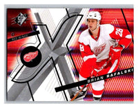 (HCW) 2008-09 SP SPx #60 Brian Rafalski Red Wings Upper Deck NHL Mint