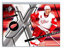 (HCW) 2008-09 SP SPx #61 Henrik Zetterberg Red Wings Upper Deck NHL Mint