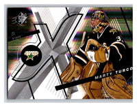 (HCW) 2008-09 SP SPx #65 Marty Turco Stars Upper Deck NHL Mint