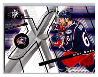 (HCW) 2008-09 SP SPx #69 Rick Nash Blue Jackets Upper Deck NHL Mint