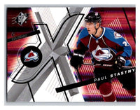 (HCW) 2008-09 SP SPx #72 Paul Stastny Avalanche Upper Deck NHL Mint