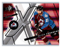(HCW) 2008-09 SP SPx #73 Peter Forsberg Avalanche Upper Deck NHL Mint