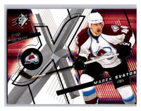 (HCW) 2008-09 SP SPx #74 Marek Svatos Avalanche Upper Deck NHL Mint