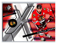 (HCW) 2008-09 SP SPx #76 Patrick Sharp Blackhawks Upper Deck NHL Mint