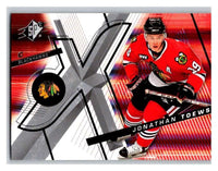 (HCW) 2008-09 SP SPx #77 Jonathan Toews Blackhawks Upper Deck NHL Mint