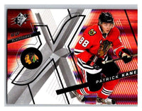 (HCW) 2008-09 SP SPx #78 Patrick Kane Blackhawks Upper Deck NHL Mint