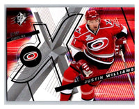 (HCW) 2008-09 SP SPx #81 Justin Williams Hurricanes Upper Deck NHL Mint