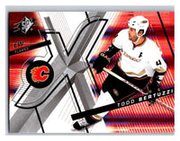 (HCW) 2008-09 SP SPx #84 Todd Bertuzzi Flames Upper Deck NHL Mint