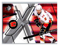 (HCW) 2008-09 SP SPx #85 Dion Phaneuf Flames Upper Deck NHL Mint
