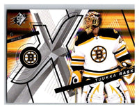 (HCW) 2008-09 SP SPx #86 Tuukka Rask Bruins Upper Deck NHL Mint