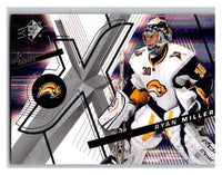 (HCW) 2008-09 SP SPx #87 Ryan Miller Sabres Upper Deck NHL Mint