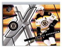(HCW) 2008-09 SP SPx #90 Patrice Bergeron Bruins Upper Deck NHL Mint