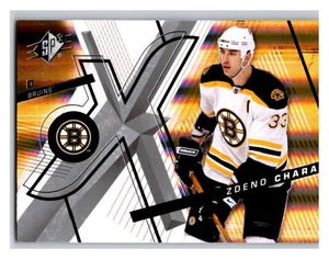 (HCW) 2008-09 SP SPx #93 Zdeno Chara Bruins Upper Deck NHL Mint