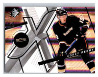 (HCW) 2008-09 SP SPx #98 Corey Perry Ducks Upper Deck NHL Mint