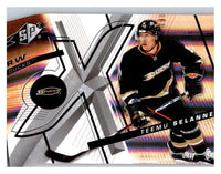 (HCW) 2008-09 SP SPx #100 Teemu Selanne Ducks Upper Deck NHL Mint