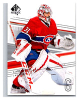 2014-15 Upper Deck SP Authentic #17 Carey Price Canadiens NHL Mint