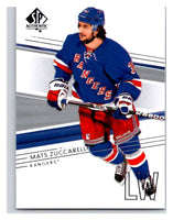2014-15 Upper Deck SP Authentic #28 Mats Zuccarello NY Rangers NHL Mint