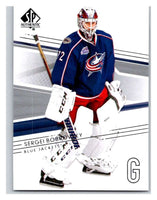 2014-15 Upper Deck SP Authentic #32 Sergei Bobrovsky Blue Jackets NHL Mint