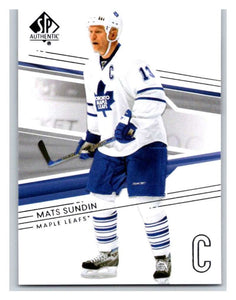 2014-15 Upper Deck SP Authentic #77 Mats Sundin Maple Leafs NHL Mint