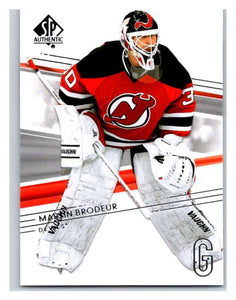 2014-15 Upper Deck SP Authentic #103 Martin Brodeur NJ Devils NHL Mint