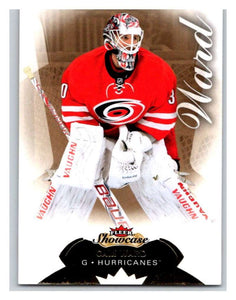 2014-15 Upper Deck Fleer Showcase #1 Cam Ward Hurricanes NHL Mint