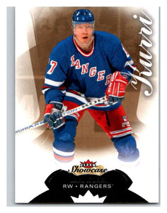 2014-15 Upper Deck Fleer Showcase #3 Jari Kurri NY Rangers NHL Mint